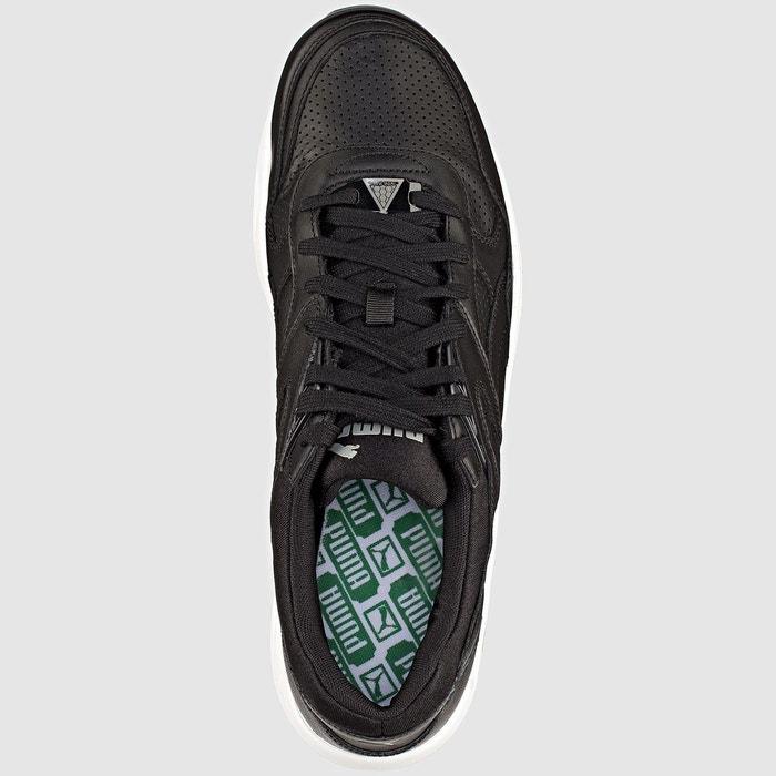 Baskets trinomic r698 core leather noir Puma