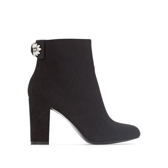 Boots détail nœud noir Mademoiselle R