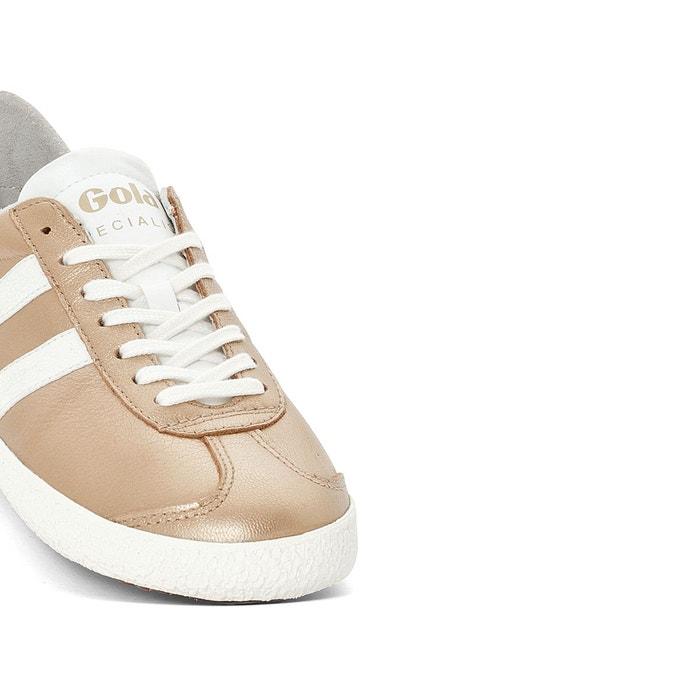 Baskets specialist metallic or blanc Gola