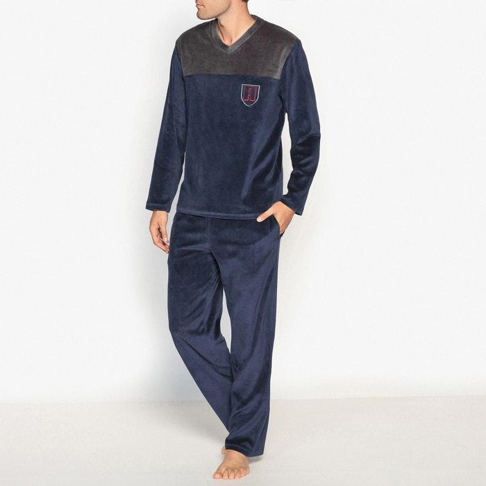 afbeelding Fluwelen pyjama met lange mouwen ATHENA