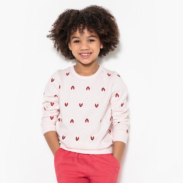 Sweater met lieveheersbeestjes 3-12 jaar  La Redoute Collections image 0