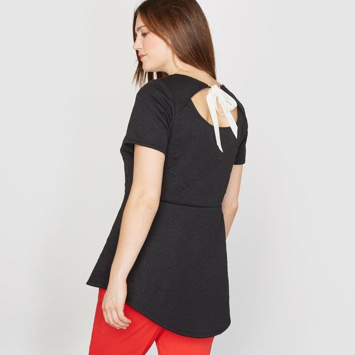 Image T-shirt in maglia a rilievo CASTALUNA