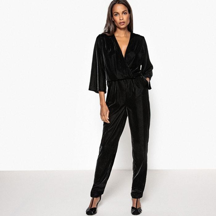 Combinaison pantalon velours la redoute collections la redoute - Combinaison pantalon femme chic ...