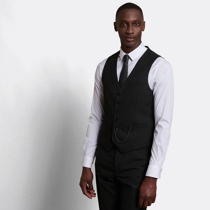 Costume Homme Gilet Noir De Gilet De Costume 9H2DIE