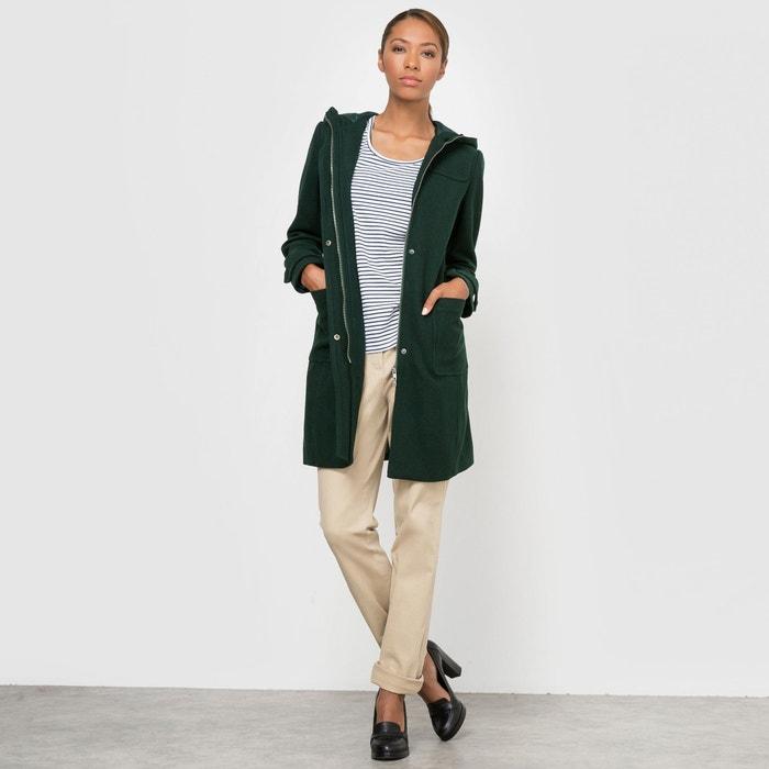 Image Duffle coat à capuche La Redoute Collections