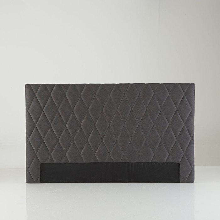 Tête de lit style contemporain, rombo gris foncé La