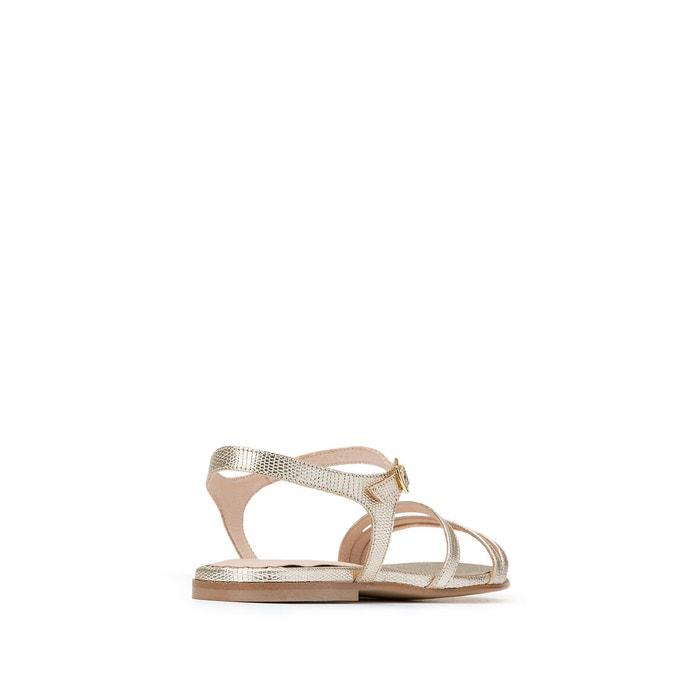 Sandales reptile métallisé amelika platine Jonak | La Redoute
