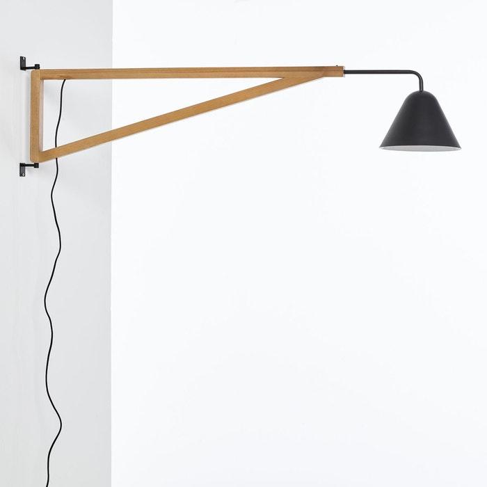 Applique forme potence, frêne et métal, Cotapi  La Redoute Interieurs image 0