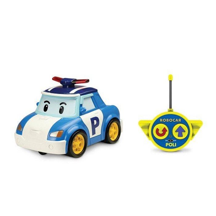 Voiture de police radiocommandée Robocar Poli 15 cm : Poli OUAPS