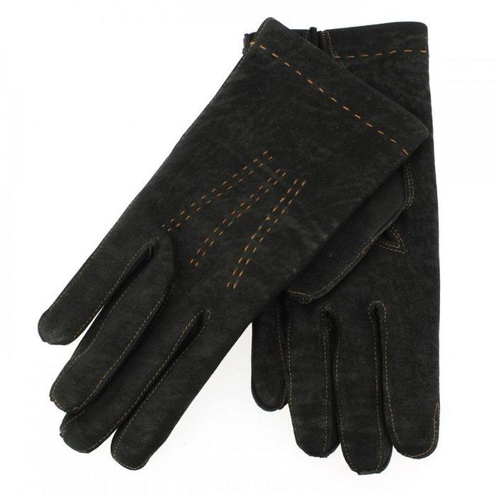Gant cuir noir luxe, agneau, fait main en italie noir Guanti Di Arcucci | La Redoute