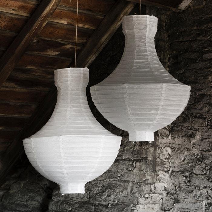 Imagen de Pantalla de lámpara de techo de papel de arroz SAM BARON.