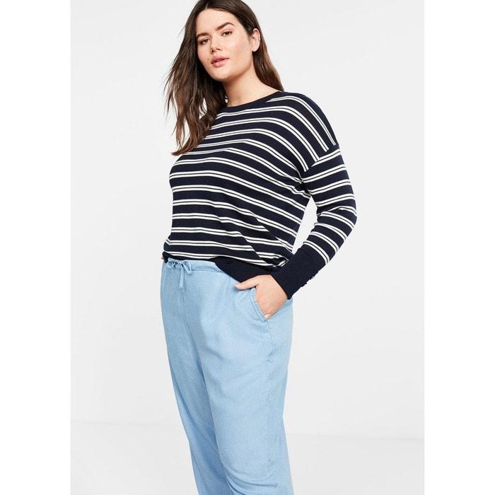 Pantalon baggy denim bleu moyen Violeta By Mango  d45e8953e83c