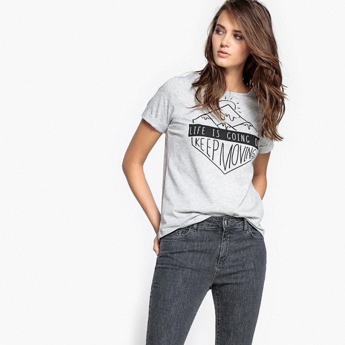 Image T-shirt fantasia montagna La Redoute Collections