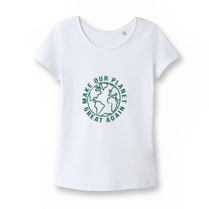 T-shirt issu de lagriculture biologique, femme