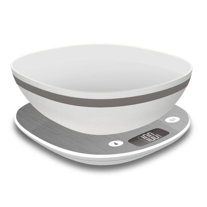 Balance cuisine bol 12116 blanc terraillon la redoute - Balance cuisine terraillon ...