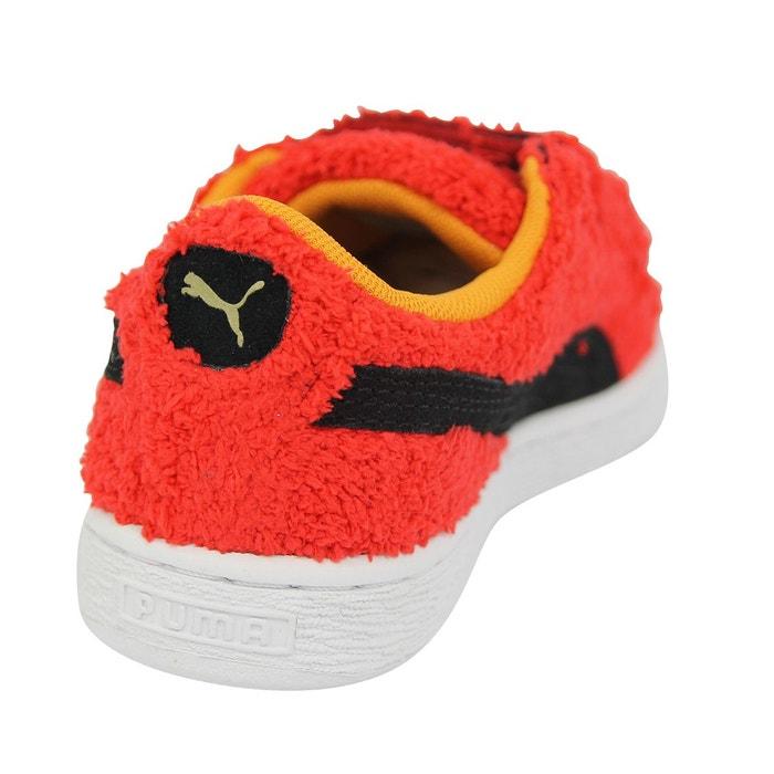 Baskets basses suede à scratch sesame street rouge Puma | La