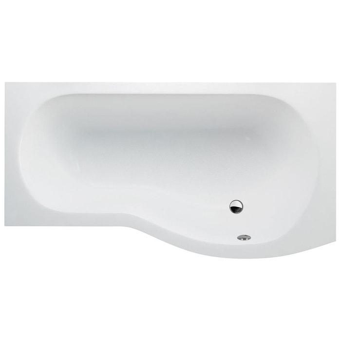 cleargreen baignoire douche asym trique ecoround r22 170x80x74 cm lucite blanc cleargreen la. Black Bedroom Furniture Sets. Home Design Ideas