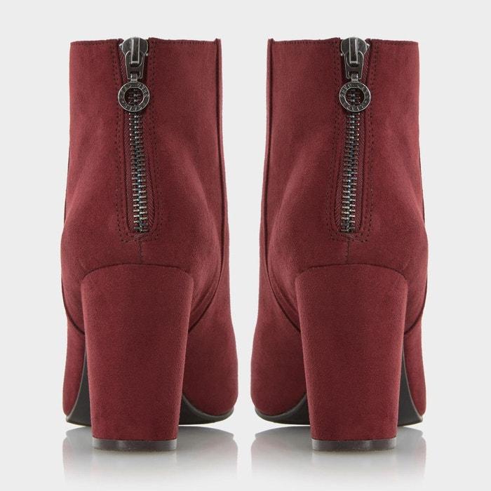 Block heel ankle boot - olive Head Over Heels By Dune