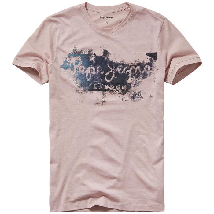 Camiseta con cuello redondo y motivo delante, Goodge  PEPE JEANS image 0