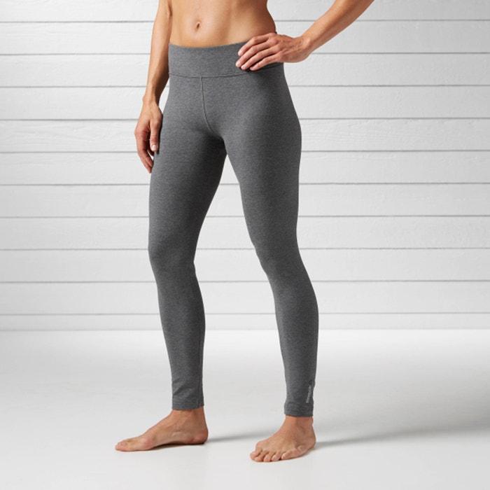 sport leggings grau reebok la redoute. Black Bedroom Furniture Sets. Home Design Ideas