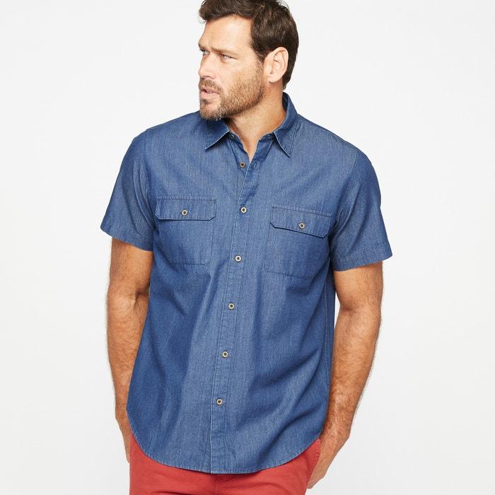 Camisa lisa de manga corta  CASTALUNA FOR MEN image 0