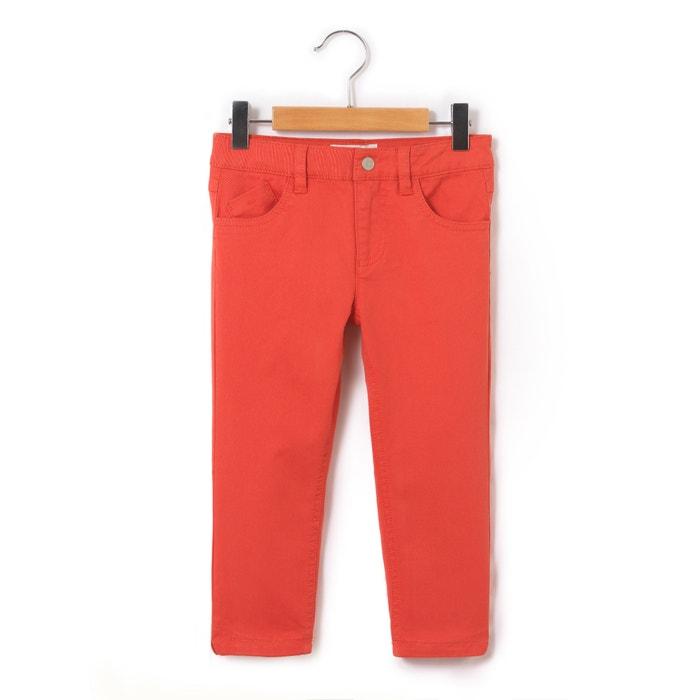 Pantaloni a pinocchietto 5 tasche 3 - 12 anni  La Redoute Collections image 0