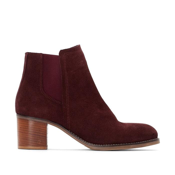 Wide Fit Leather Ankle Boots, Sizes 38-45  CASTALUNA image 0