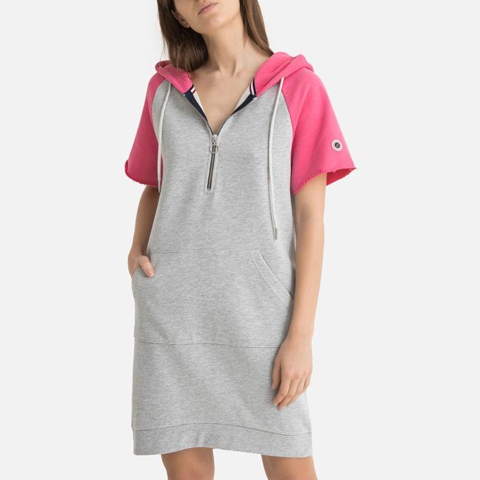 dégagement mieux meilleure sélection Robe pull à manches courtes DRESS HOOD