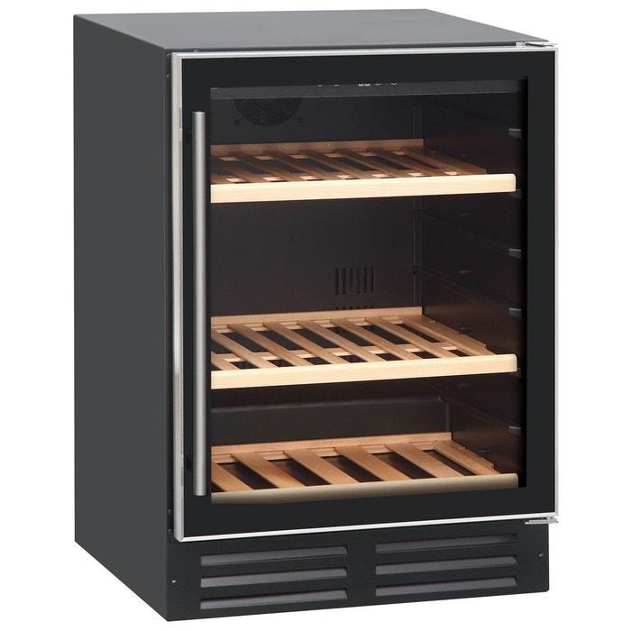cave vin de service 1 temp 42 bouteilles noir aci cvs120e encastrable caviss la. Black Bedroom Furniture Sets. Home Design Ideas