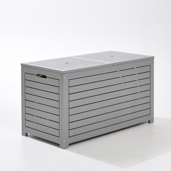 Image Outdoor Acacia Rectangular Storage Box LES PETITS PRIX