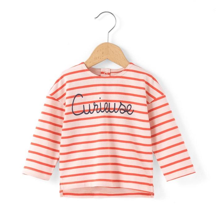 Image T-shirt in cotone bio a righe 1 mese - 3 anni R essentiel