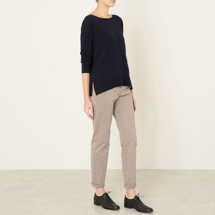 Pantalon chino sandy taupe Reiko   La Redoute Mobile e8e618164c8b