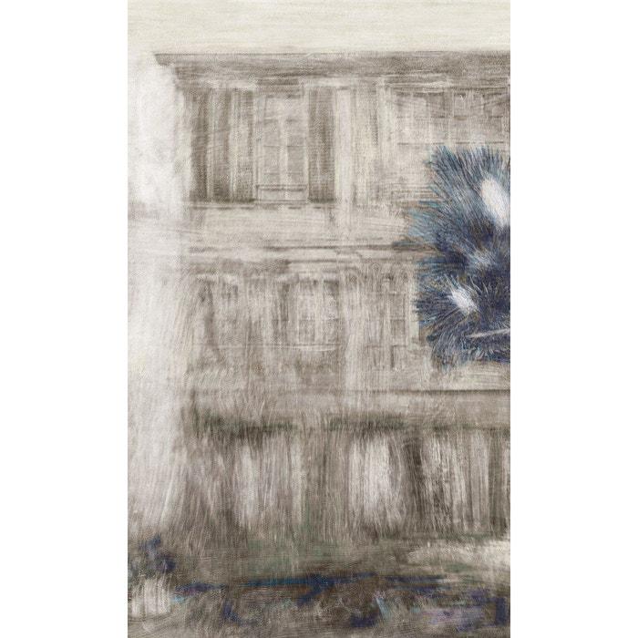Papier Peint Panoramique Motif Fresque Facade Palmier Exotique Tenue