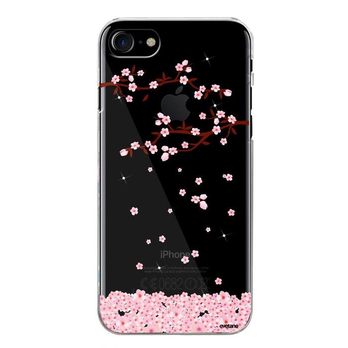 coque rigide iphone 7 fleur