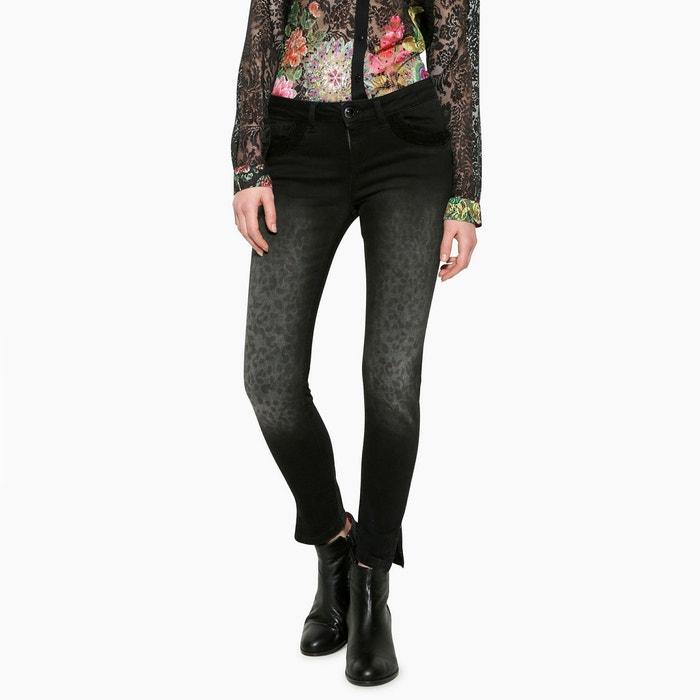 Skinny Leopard Print Jeans Desigual Image 0