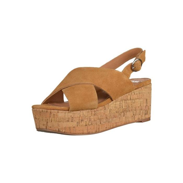 Sandales  marron Spm  La Redoute
