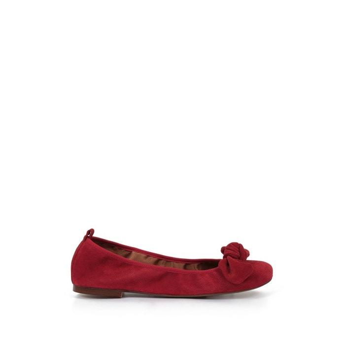 Ballerine elenie rouge Heyraud