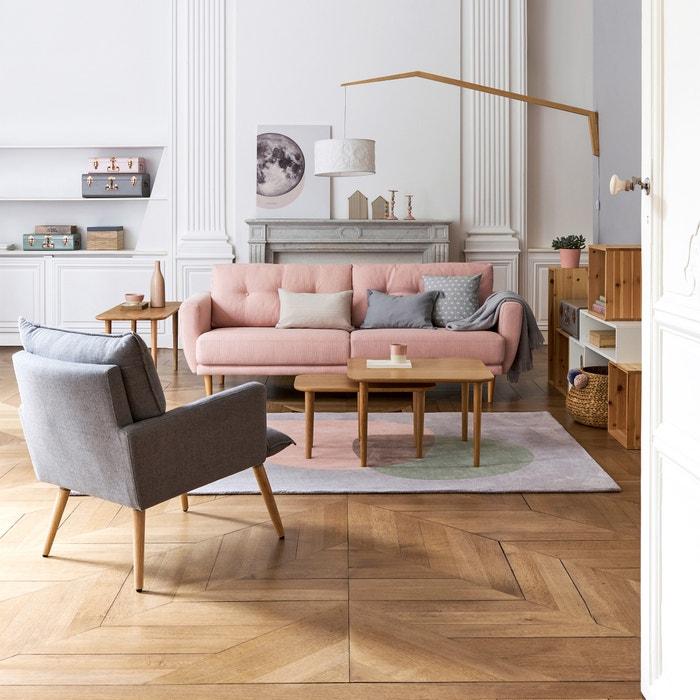 Piccolo tavolo basso, rovere, Crueso  La Redoute Interieurs image 0