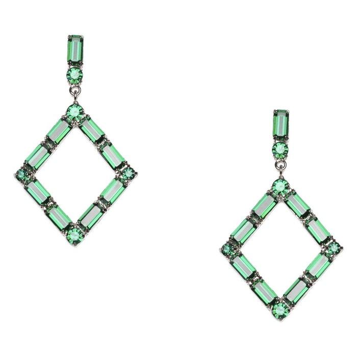 Boucles d'oreilles karly vertes vert Reine Rosalie | La Redoute Vente Pas Cher Faible Frais D'expédition kmwk1LC