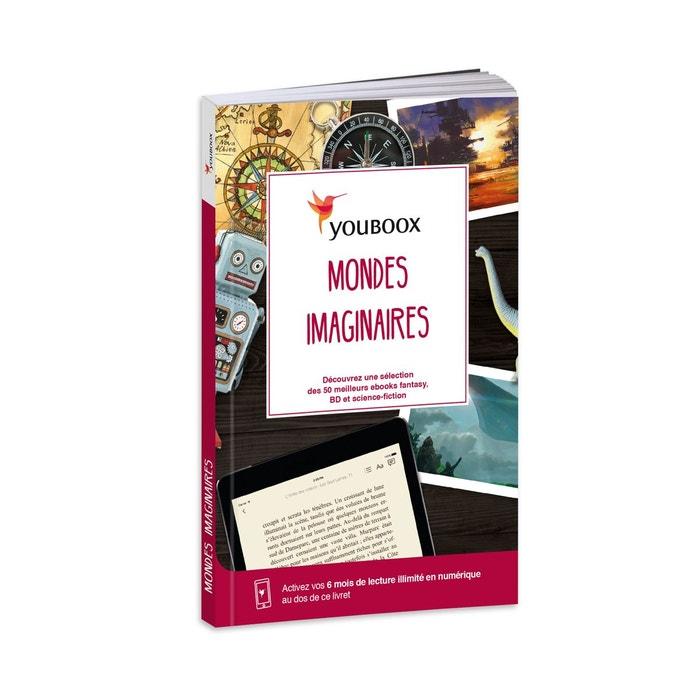 LIVRE-CADEAU 6 mois de lecture numérique MONDES IMAGINAIRES