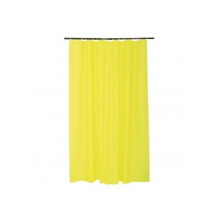 rideau de douche uni en peva vert anis home bain la redoute. Black Bedroom Furniture Sets. Home Design Ideas