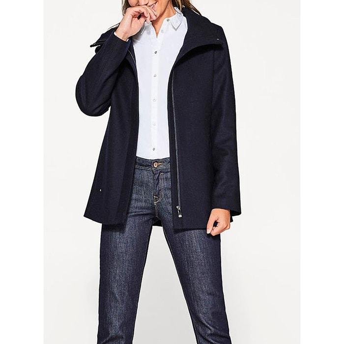 High Neck Wool Blend Coat  ESPRIT image 0