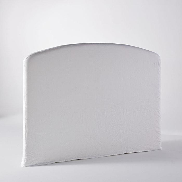 housse t te de lit vincentius blanc am pm la redoute. Black Bedroom Furniture Sets. Home Design Ideas