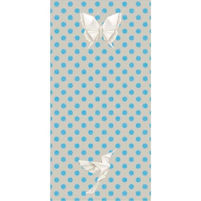 papier peint intiss fly origami multicolore le papiers de ninon la redoute. Black Bedroom Furniture Sets. Home Design Ideas