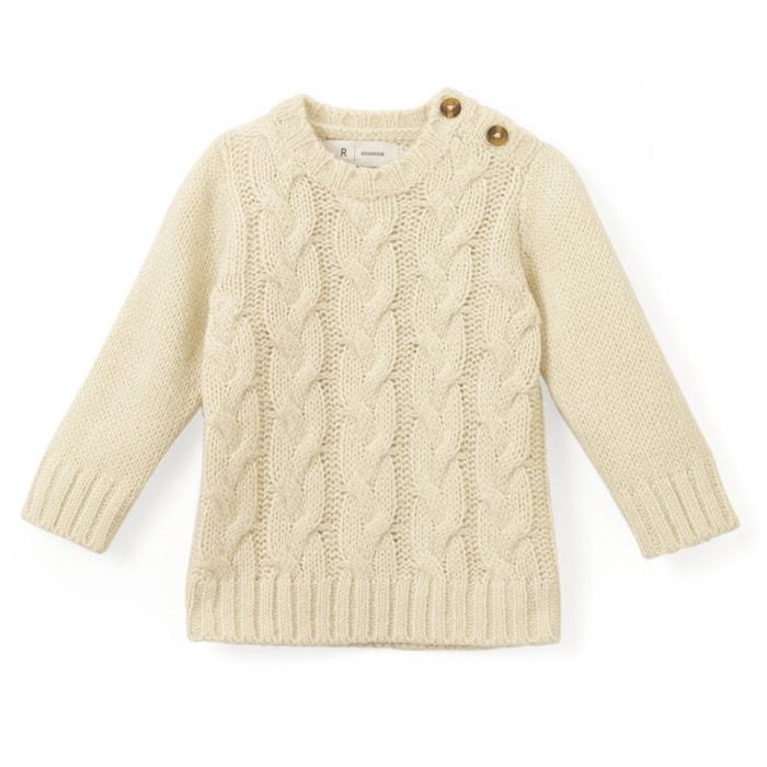 Pull scollo rotondo in maglia grossa  La Redoute Collections image 0