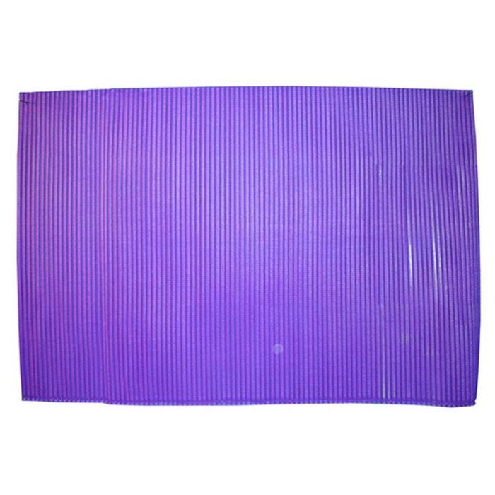 Tapis de salle de bain antid rapant pvc violet violet - La redoute tapis salle de bain ...