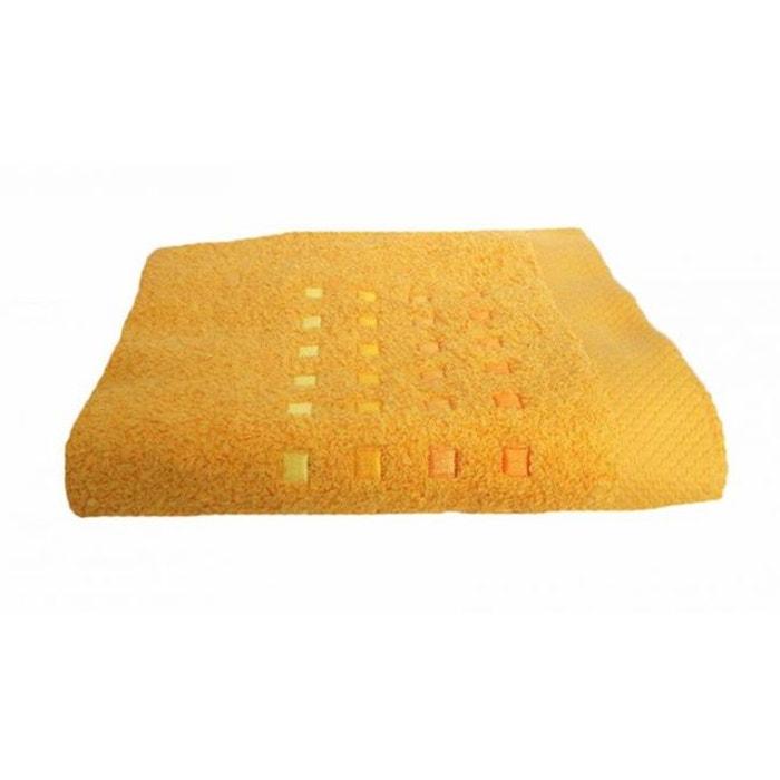 drap de bain pure square or or monteleone le linge la redoute. Black Bedroom Furniture Sets. Home Design Ideas