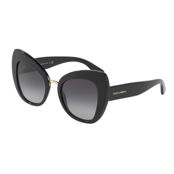 Lunettes de soleil dg4319 noir Dolce Gabbana   La Redoute a712a03c6613
