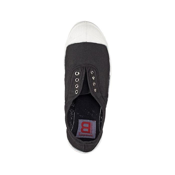 Baskets basique elly noir Bensimon