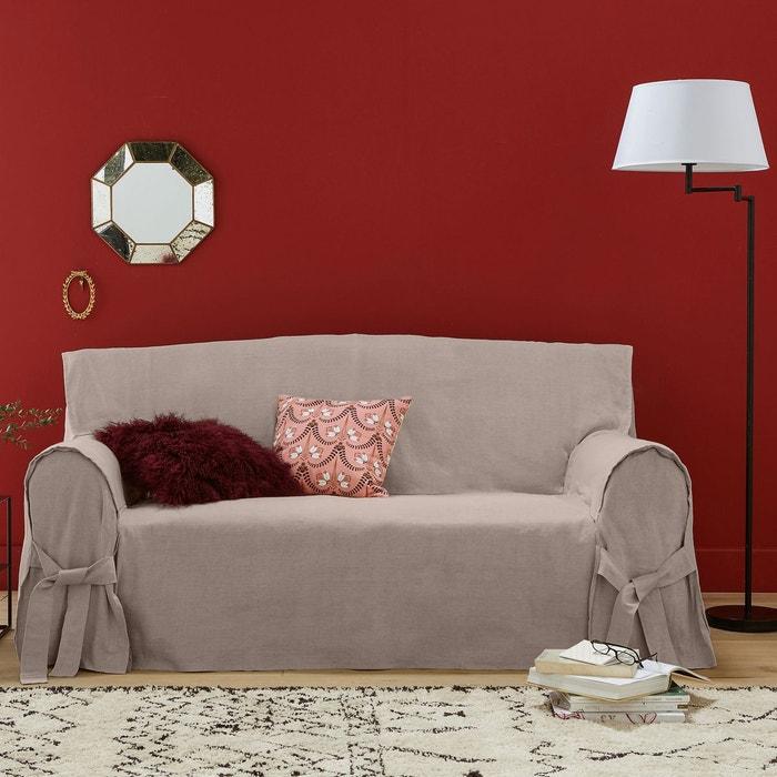 housse de canap lin coton jimi la redoute interieurs la redoute. Black Bedroom Furniture Sets. Home Design Ideas